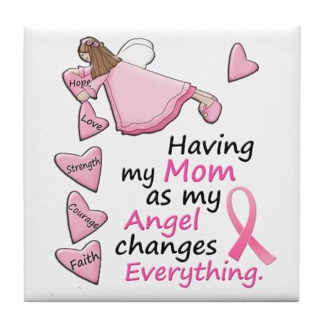 My Angel 1 (Mom BC) Tile Coaster