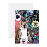 Rabbit's Christmas Greeting Cards (10 Pk)