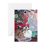 Hoppy Holidays Christmas Cards (Pk of 10)