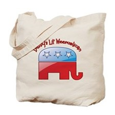 Daddy's Little Weepublican Tote Bag