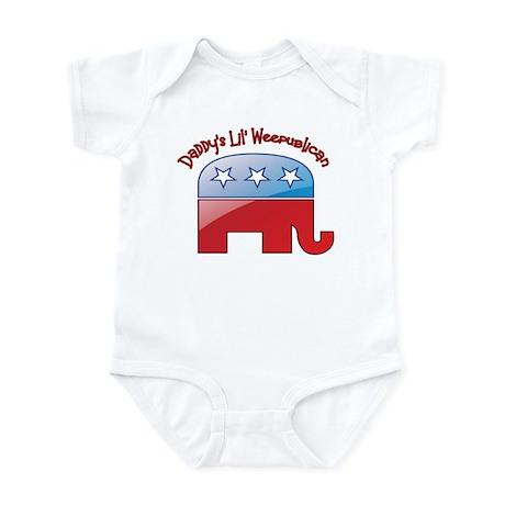 Daddy's Little Weepublican Infant Bodysuit