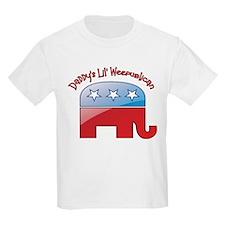 Daddy's Little Weepublican T-Shirt