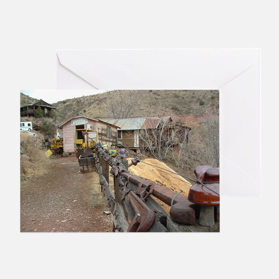 Ghost Town Lane Greeting Card