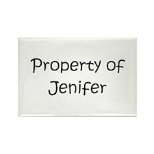Funny Jenifer Rectangle Magnet
