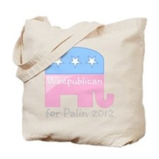 Weepublican for Palin 2012 Tote Bag