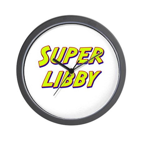 Super libby Wall Clock