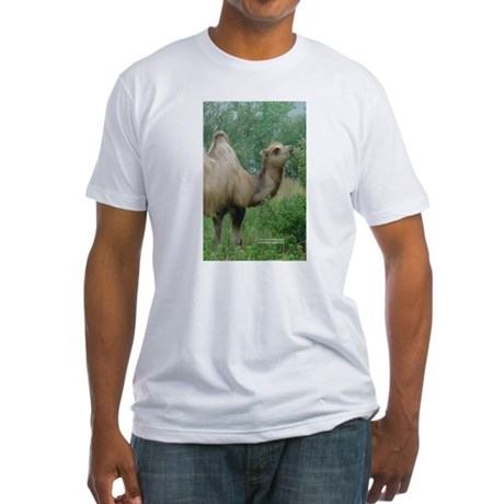 Camel 3 Fitted T-Shirt