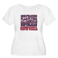 """Republican C Women's Scoop Neck Plus Siz"