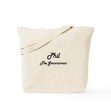 Phil - The Groomsman Tote Bag