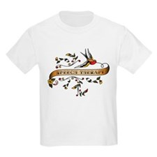 Speech Therapy Scroll T-Shirt