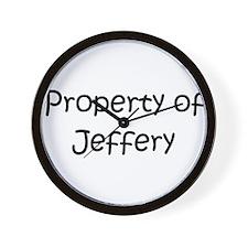 Unique Jeffery Wall Clock