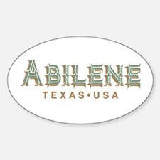 Retro Abilene Decal