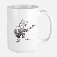 Catoons™ Bass Guitar Cat Mug
