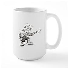 Catoons™ Bass Guitar Cat Mug
