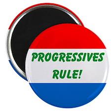 Progressives Rule Magnet