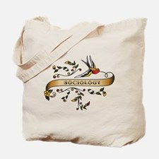 Sociology Scroll Tote Bag