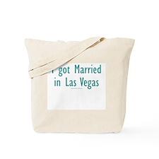 Married in Las Vegas - Tote Bag
