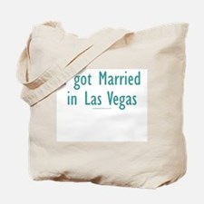 Married in Las Vegas - Tote Bag
