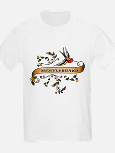 Shuffleboard Scroll T-Shirt