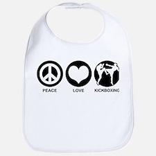 Peace Love Kickboxing Bib