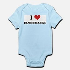 I Love Candlemaking Infant Creeper