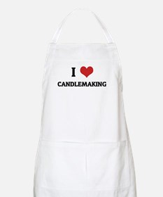I Love Candlemaking BBQ Apron
