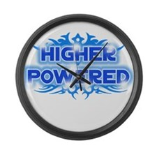 Higher Powered Large Wall Clock