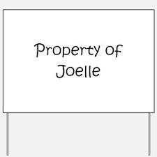 Cool Joelle Yard Sign
