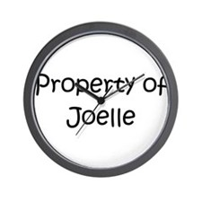 Cool Joelle Wall Clock