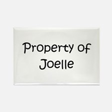 Cool Joelle Rectangle Magnet
