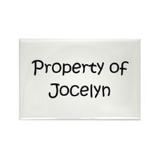 Cool Jocelyn Rectangle Magnet