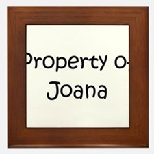 Cute Joana Framed Tile