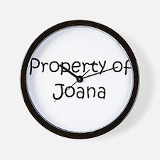 Unique Joana Wall Clock