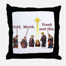 Frank Sent This Throw Pillow