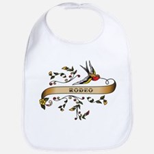 Rodeo Scroll Bib