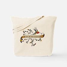 Rockhounding Scroll Tote Bag