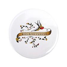 "Rockhounding Scroll 3.5"" Button (100 pack)"