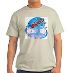 Rocket Ride Ash Grey T-Shirt