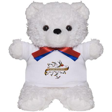 Rheumatology Scroll Teddy Bear