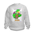 Polly Wants A Cracker Kids Sweatshirt