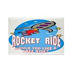 Rocket Ride Rectangle Magnet (10 pack)