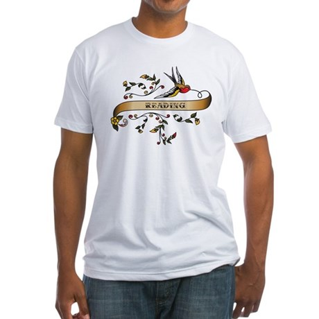 Reading Scroll Fitted T-Shirt
