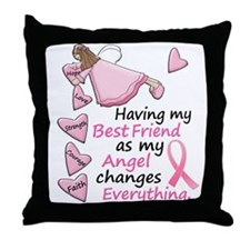 My Angel 1 (Best Friend BC) Throw Pillow