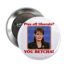 "Sarah Palin You Betcha 2.25"" Button"