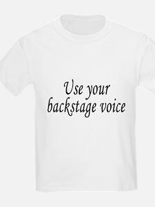Backstage Voice T-Shirt