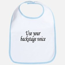 Backstage Voice Bib