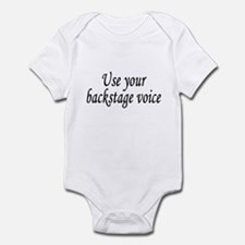 Backstage Voice Infant Bodysuit