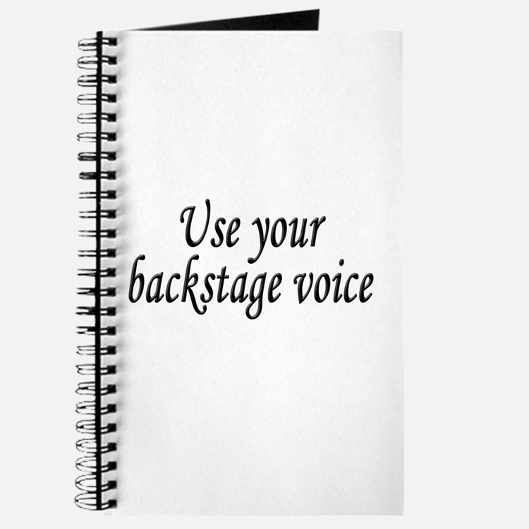 Backstage Voice Journal