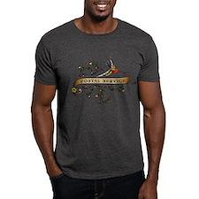 Postal Service Scroll T-Shirt
