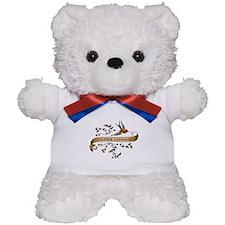Polymer Chemistry Scroll Teddy Bear